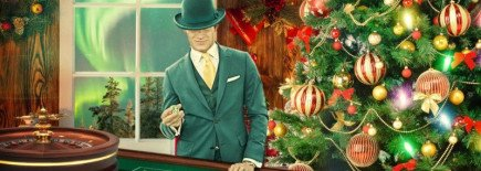 It's still Christmas on some UK casinos, win some Bonus Cash on the North Pole Roulette table!