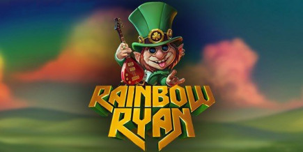 Big win on the new Yggdrasil slot game Rainbow Ryan on Casino Heroes!