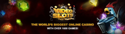 Videoslots UK casino has 2 new online slot releases!