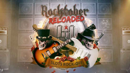 It's time to rock the slots with Rocktober Reloaded on Betsafe casino!