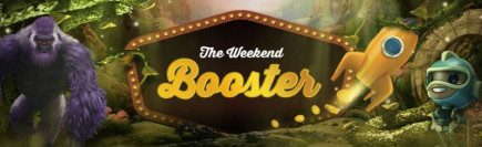 Video Slots casino weekend booster bonus!