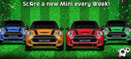 Spin it to 'min' it! Earn tickets to win a mini, cash, or fabulous prizes!