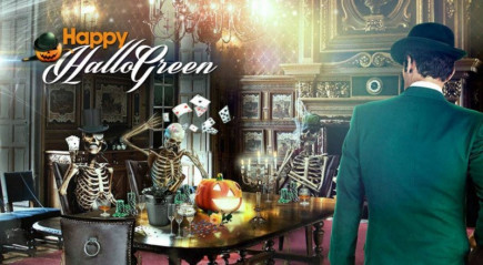 £10,000 and 80 Free Spins await on Mr Green's Halloween online slots