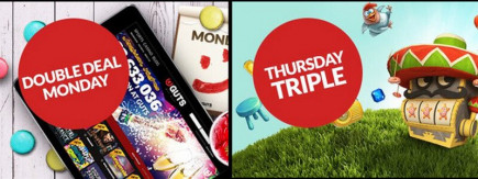 Get up to 60 Free Spins this weekend on Guts online casino's Thursday Triple promotion!