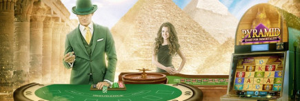 Egyptian October on Mr Green UK casino, grab yourself up to 400 Free Spins and feel like a Pharaoh!