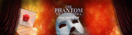 Win a trip to London and £25,000 whilst playing the brand new The Phantom of the Opera slot game!