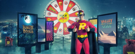 Power your way up to 1,000 casino free spins!