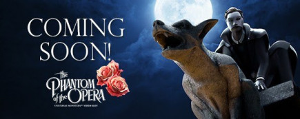 Free Spins on the brand new Phantom of the Opera video slot!