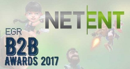 NetEnt awarded 3 titles at the EGR B2B Awards for their casino slot game magic!