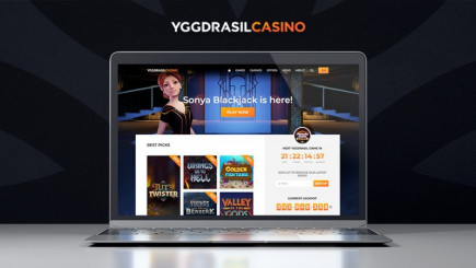 You can play any Yggdrasil casino game for free on their newly released fan site!