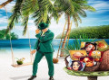 Sandy beaches, coconuts, and a £45,000 cash giveaway by spinning on slots!