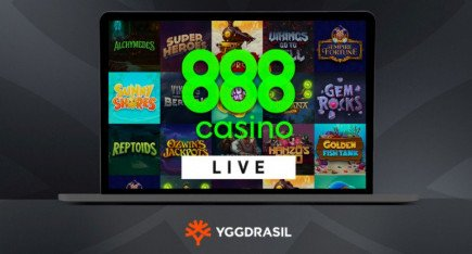888 casino has now integrated Yggdrasil's portfolio of casino games!