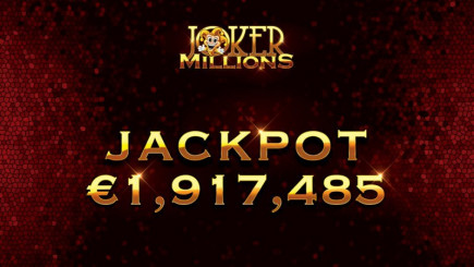 Another progressive jackpot winner in January! It's going to be a good year for online casino