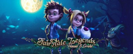 New slot release from NetEnt Fairytale Legends: Hansel & Gretel