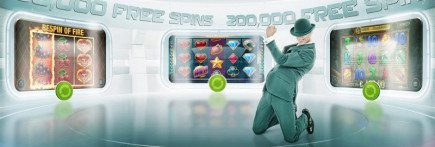 200,000 Free Spins up for grabs on Mr Green casino!