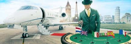 Trips to 6 destinations & cash prizes are up for grabs on best rated Mr Green UK casino!