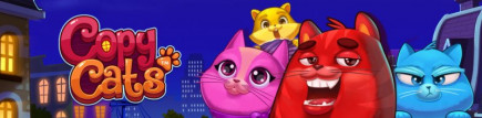 Free Spins on the new NetEnt slot Copy Cats, it's a paw-fect Wednesday!