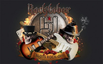 Rocktober with 500,000 free spins and £4k casino tournaments