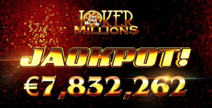 Who's the joker now? Joker Millions just dished out £7.8 million to one lucky jackpot winner!