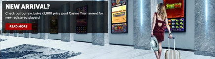 €1K tournament + €1K bonus at Betsafe Casino