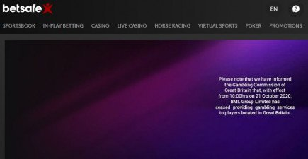 Betsson to close down several of its UK casino sites