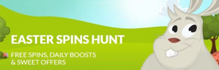 Top up your Easter holiday with casino free spins on your favourite slots