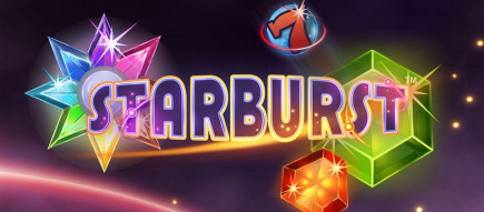 Sunday's slot of the week is the NetEnt classic, Starbust!