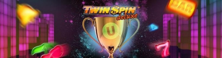 Celebrate the newly released Twin Spin Deluxe and win £50,000 on our best online UK casinos!