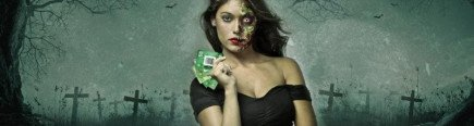Hunt for the haunted Halloween Blackjack cards on Unibet casino and bag some cash this weekend!