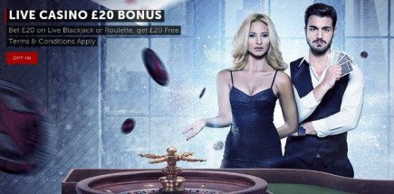 Up for something new? Then we have the casino bonus for you!