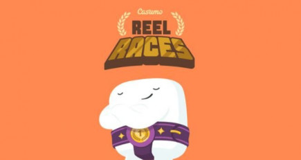 Top Rated Casumo online casino has an exciting Reel Race Promotion!