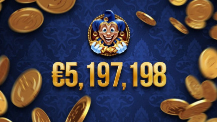 €5.2 million euro jackpot has been won on Yggdrasil game!