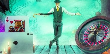 Double wins and Bonus spins on live casino games for Halloween month!