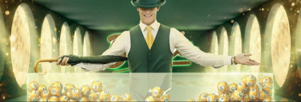 Get your bingo bonus giveaway over on Mr Green online casino!