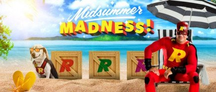 Midsummer Madness on Rizk UK online casino!