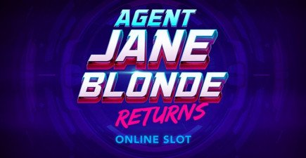 Double agent Blonde now, with a sequel release to the 2005 slot game!