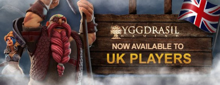 Videoslots top online casino has a treat for us UK players...who loves Yggdrasil Gaming?