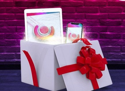 Guts casino are celebrating guts-mas early, win an iPad or iphone X every day this month!