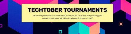 Are you up for the Techtober Tournaments on iGame casino? Cash prizes, Apple products and Playstations are up for grabs!