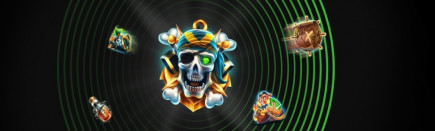 This sunken pirates treasure isn't going to find itself! Battle for the gold and earn bonus spins!
