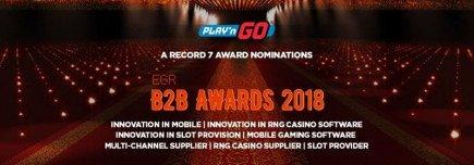 Only the best of the best at the EGR B2B Awards and Play'n Go are up for 7 nominations!