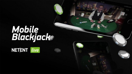 NetEnt has created the first of its kind for mobile standard Blackjack for online casino!