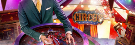 Join the Circus Roulette Spectacular and win 400 Free Spins on Mr Green UK casino!