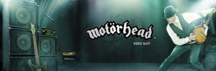 Motörhead slot finally out! MrGreen rocks with free spins
