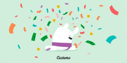 A lucky player from the UK won the £2.7 million Jackpot by playing slot games on Casumo casino!