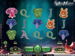 The Wish Master Video Slot