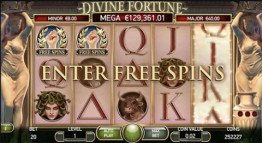 Divine Fortune - Free Spins Feature