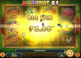 Multifruit 81 Big Win