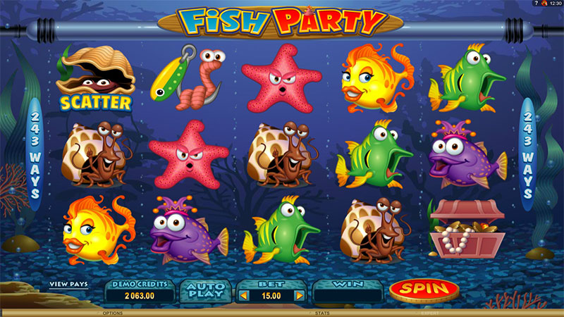 fish party slot