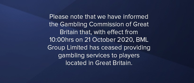 CasinoEuro UK Closed